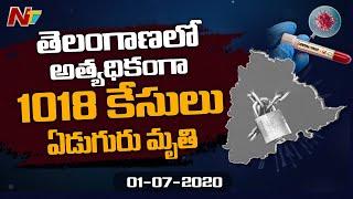 1018 new coronavirus cases in Telangana..