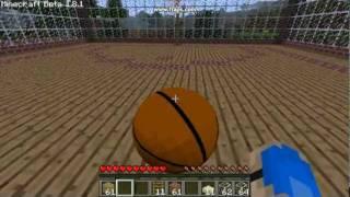 minecraft Basketball mod[sports mod]