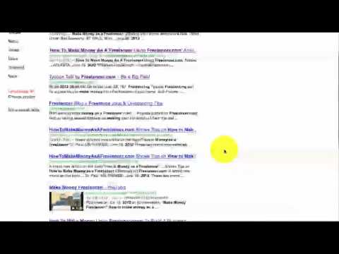 How To Make Money As A Freelancer Video Entry & SEO Update 6/28