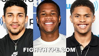 RIVALS & PAST OPPONENTS PREDICT GERVONTA DAVIS VS. SANTA CRUZ: LOPEZ, HANEY, STEVENSON, & MORE