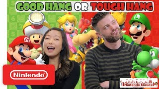 Good Hang or Tough Hang Mushroom Kingdom Edition – Nintendo Minute