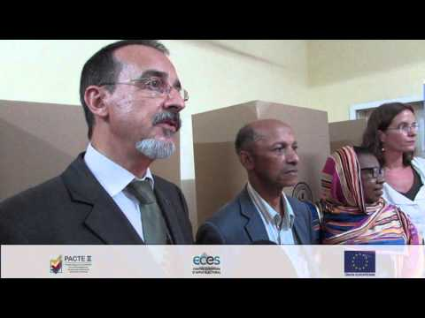 Delivery of electoral material to the CENI - PACTE Comores II (FR)