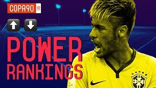 10 Favorites for World Cup 2018 | COPA90 Power Rankings