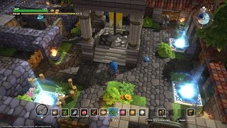 DRAGON QUEST BUILDERS: Chapter 1 Town Layout