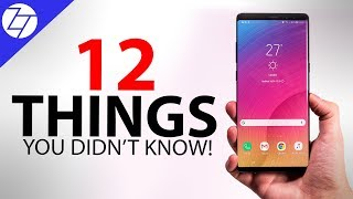 Samsung Galaxy Note 9 - 12 THINGS YOU NEED TO KNOW!