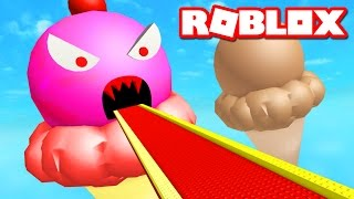ICE CREAM OBBY IN ROBLOX
