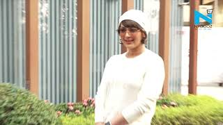 Watch Sonali Bendre beaming with happiness..