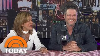 Blake Shelton Is Hoda Kotb's Co-Host Live In Nashville | TODAY