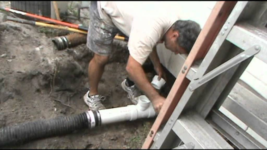 Replacing Clogged Cast Iron Pipes Youtube