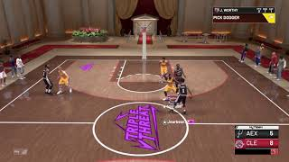 NBA 2K 19 MyTeam Galaxy Opal Giannis Debut Triple Threat Online