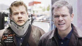 'Jason Bourne' Stunt Double w/ Matt Damon