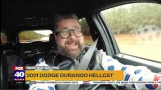 Nik Miles 2021 Dodge Durango Hellcat KTXL Fox 40 11 30 2020 09 46 47