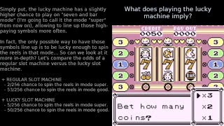 Pokemon R/B/Y - Mechanics And Hidden Secrets Of Slot Machines