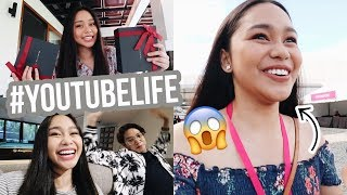 LIFE OF A YOUTUBER! Events, Sponsors, Collabs, etc.  | ThatsBella
