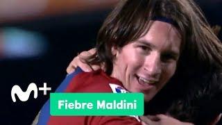 Fiebre Maldini: El primer hat-trick de Messi | Movistar+