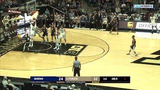 Highlights: Marian at Purdue   Big Ten Men's Basketball