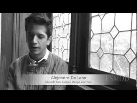 ESMOD student talks about his experience studying abroad at ESMOD