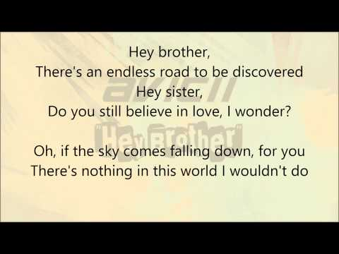 Baixar Avicii - Hey Brother (Lyric Video)