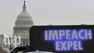 WATCH: House convenes for vote on use of 25th Amendment to remove Trump from office