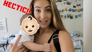 BALANCING LIFE WITH A NEWBORN ! | SINGLE MOM