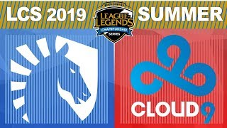TL vs C9, Game 5 - LCS 2019 Summer Playoffs Grand Finals - Liquid vs Cloud9 G5