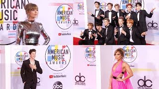 2018 American Music Awards (AMAs) Red Carpet Arrivals