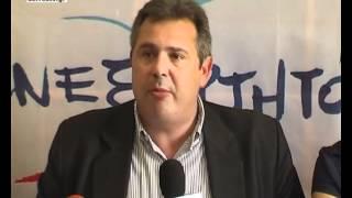 Συνέντευξη Πάνου Καμμένου στις Σέρρες 9 Ιουνίου 2012