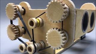 How to make a boxer engine. DIY with plywood