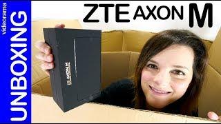 Video ZTE Axon M u5FWFPEOm0k