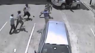 VIDEO: Gas Station Clerk with MMA Training Levels Robbery Suspects