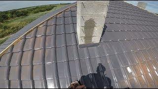 Jak zrobić opierzenie komina ? Obróbka komina pod struktonit S01E61. Budowa domu krok po kroku.