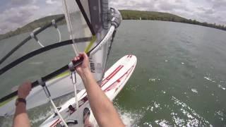 Windsurf vidéo avec commentaires