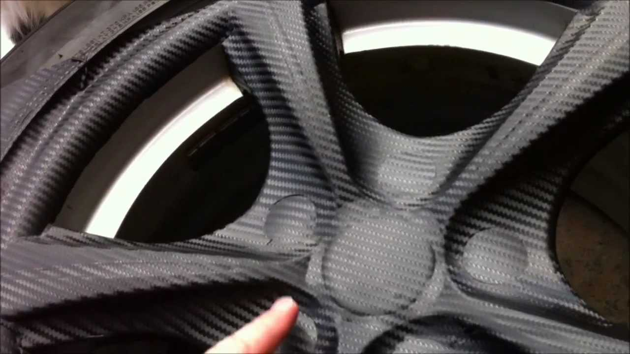 wheel wrap alloy wheels vinyl carbon fiber diy cheap wraps wrapping easy paint maxima vinyls