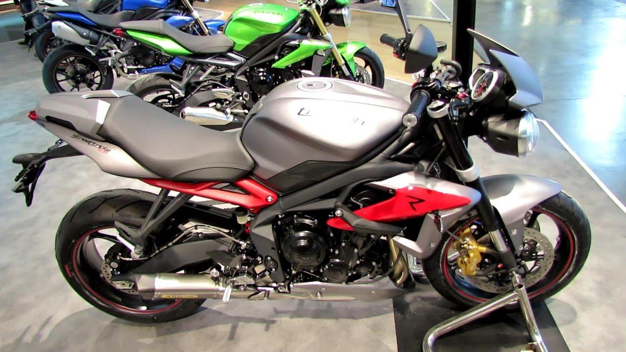 2014 triumph street triple 675 r walkaround 2013 eicma milan motorcycle exhibition youtube. Black Bedroom Furniture Sets. Home Design Ideas