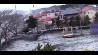 Цунами в Японии 2011. Невероятные кадры.