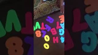Wright Davis - 18 Month Old Baby Genius - ABCs 123s