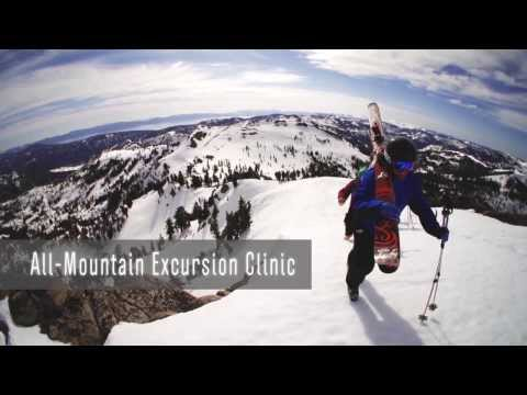 Daily Specialty Clinics at Squaw Valley and Alpine Meadows