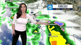 SOCAL WEATHER: Rain to hit Southern California Friday, last through next week | ABC7