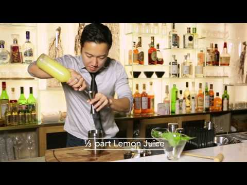 Best Bartender cocktail at The Woods by Alex Pun