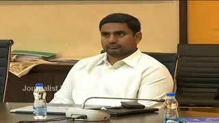 Chandrababu, Lokesh watch Galla Jayadev speech..