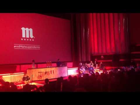 """Estopa """"Gafas de Rosa"""" en directo en el evento #MiMahouPendiente"""