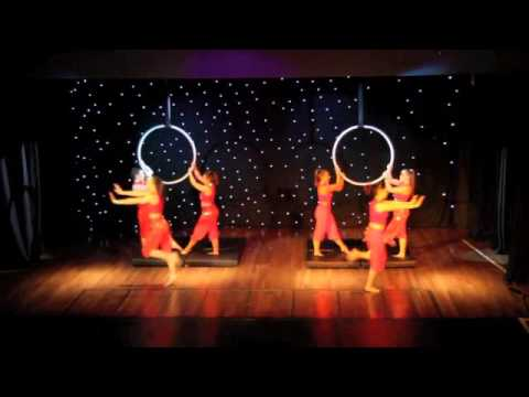 Blush Showcase 2015 - Shakalaka Baby - Bollywood themed Aerial Hoop Routine