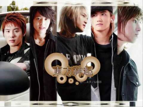 DBSK- Holding back the tears