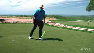 Wedge Week: Pelz's wedge play tips for sloping lies | Golf Channel