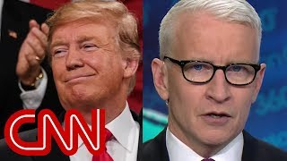 Anderson Cooper roasts Trump's 'official poll'