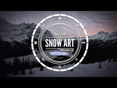 Video: #ProjectSnow is a spectacular video montage of 'Snow Art' in motion, which captures the creative journey of internationally-acclaimed snow artist Simon Beck during his first artistic exploration of North America. #ProjectSnow tells the story of Beck's magnificent imprints on the landscape of Banff National Park - his latest winter canvas.