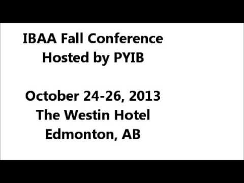 IBAA Fall Conference 2013 early bird