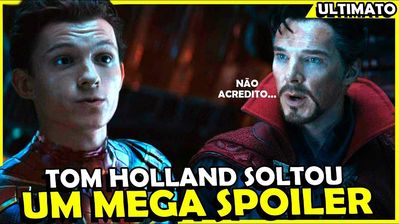 BOMBA! TOM HOLLAND DEU UM MEGA SPOILER DE VINGADORES ULTIMATO
