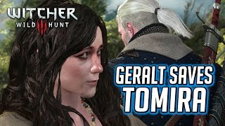 Witcher 3 ► Geralt Saves Tomira from the Witch Hunters [If Radovid Wins]