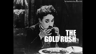 Charlie Chaplin Eating His Shoe - The Gold Rush